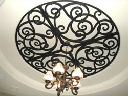SGO Iron art can be easily installed in any space. SGO Iron art provides unique designs that personalize a home or office and complement traditional window coverings.