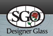 Designer glass iron art